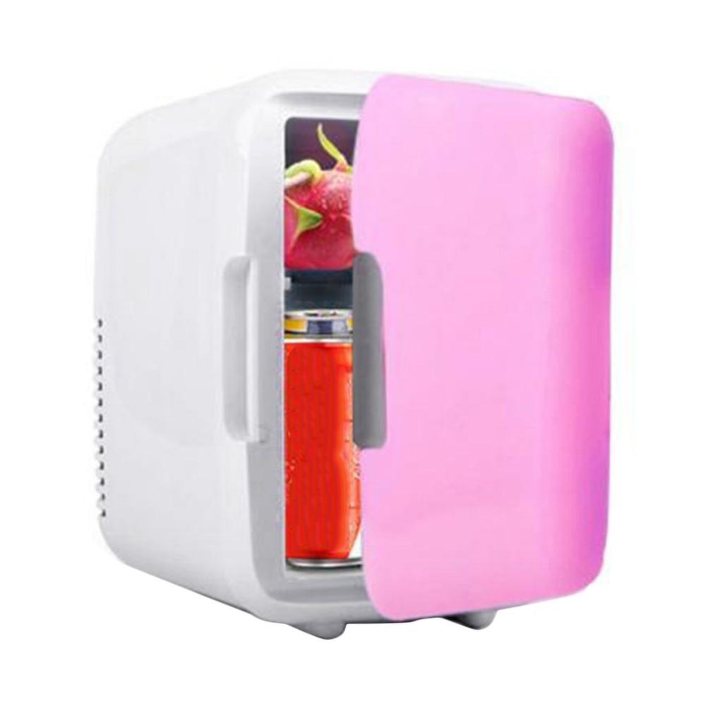 Portable Car Freezer 4L Mini Fridge Refrigerator Car Home Dual Use Car Fridge 12V Cooler Heater Universal Vehicle Dropshipping