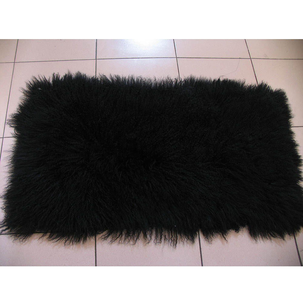 Ms.softex Mongolian lamb fur plate 3
