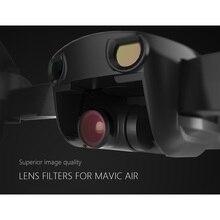 PGYTECH Lens Filters for DJI Mavic Air 6Pcs UV+ND4+ND8+ND16+ND32+CPL