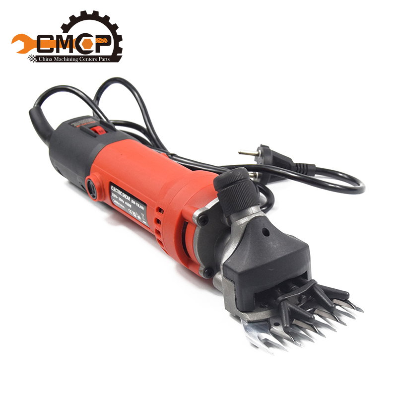 580W Electric Scissors for Sheep Goat Hair Shearing Machine Electric clipper + 1 Set 13T Shearing Machine Blade Hair Cutter