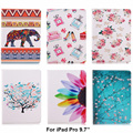 For Apple iPad pro 9.7 case Print pattern Design Folio PU Leather cases for iPad Pro mini 9.7 inch Cover Tablet Shell Protector