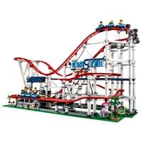 Лепин 15039 Legoing город горки создатель 4619 шт. 10261 сборка Buidling кубики, детские игрушки Legoings друзья Лепин