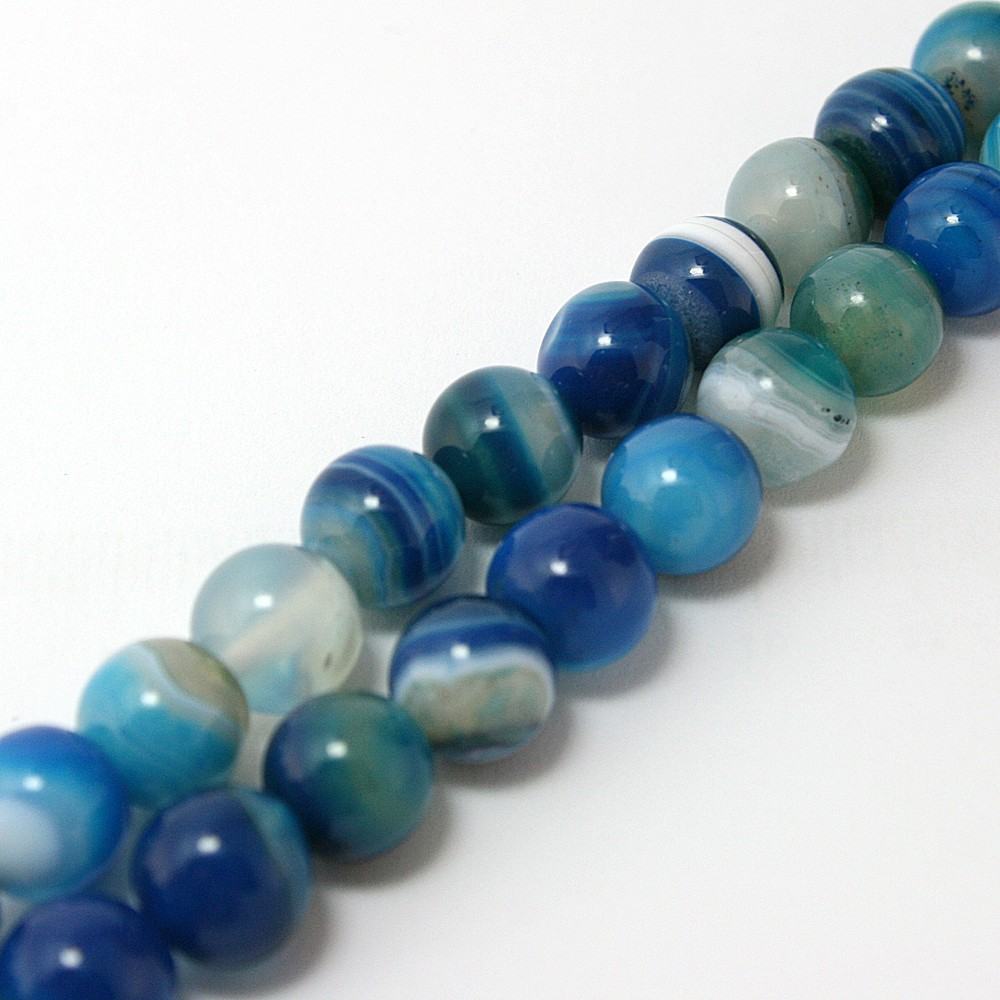 free-shipping-high-quantity-AAA-blue-stripe-Onyx-agate-Round-natural-stone-Loose-Beads-4Mm-6mm (3)