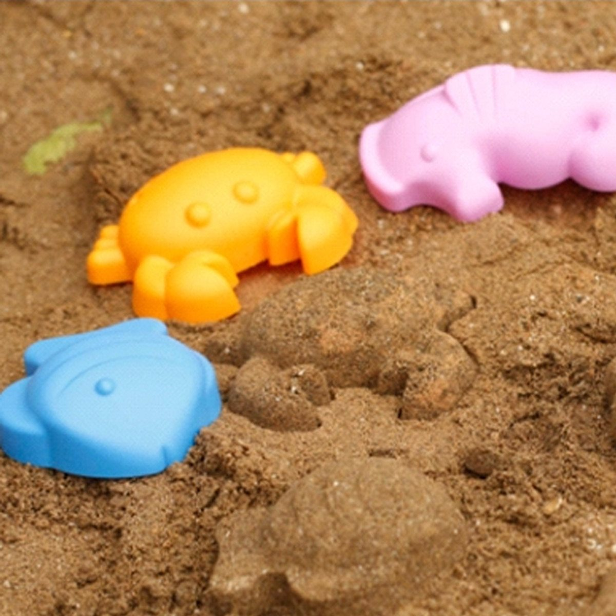 5Pcs Sandbeach Kids Beach Children Favor Sand Playing Toys Castle ...