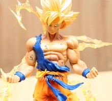 Hot selling Anime Dragon Ball Z Super Saiyan GOKU Son Gokou Figure PVC Action Figure Model Collection Toy Gift