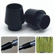 12 шт., конический наконечник, сменные наконечники для гольфа, прочные, легкие в использовании, железные валы, запасные, легкие, черные, втулки для вала, маленькие, пластиковые