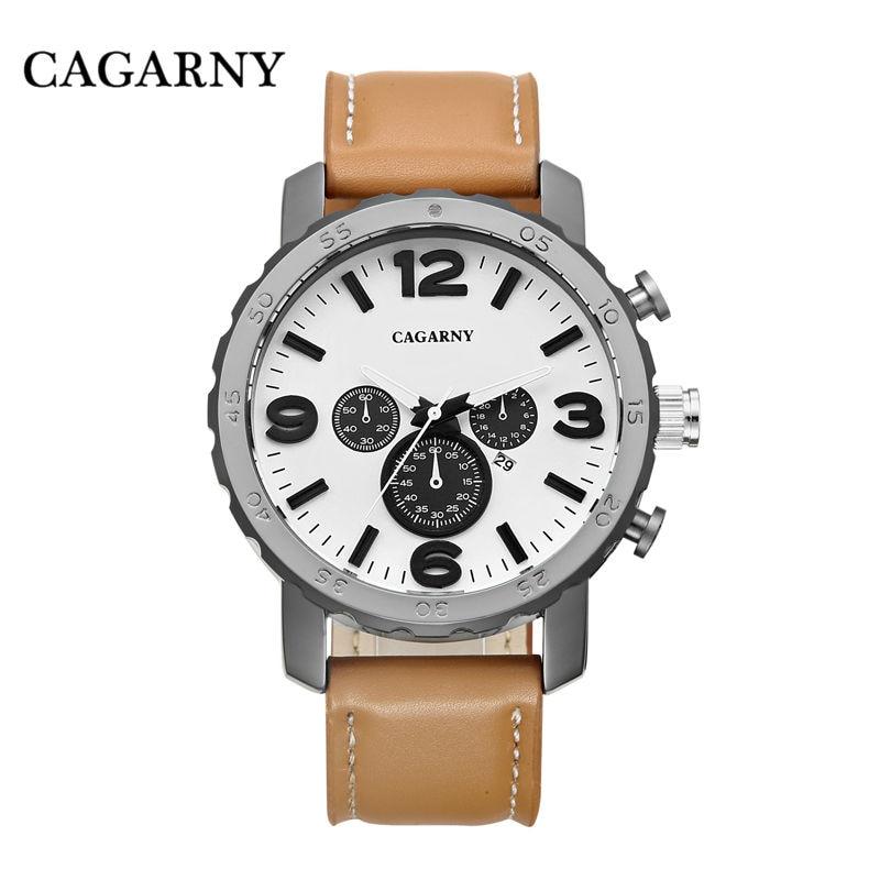 Случайни кварцов часовник мъжки - Мъжки часовници - Снимка 3