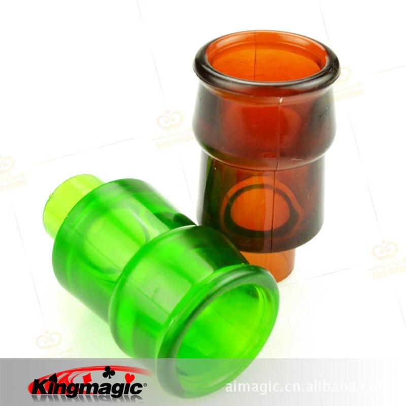 Bottle Penetration 3 pieces Bottle through table or body Magic Trick NEW