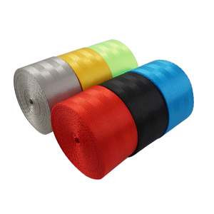 Image 4 - GSPSCN  3M/5M Seat Belt Webbing Strap Thicken Car Seat Belt Harness Backpack Belt  Fashion Color Ribbon European standard