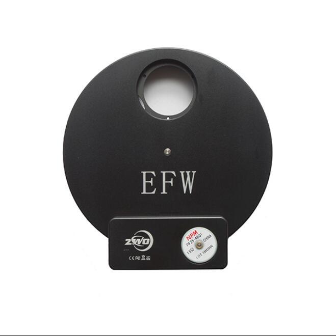 Cámara astronómica ZWO EFW rueda de filtro eléctrico 8 agujeros 1,25 pulgadas filtro wheelZWO