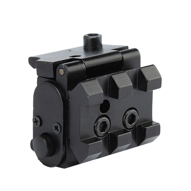 Image 5 - For Pistol Air gun Rifle Hunting Accessious Mini Adjustable Compact Red Dot Laser Sight With Detachable Picatinny 20mm Rail-in Hunting Gun Accessories from Sports & Entertainment
