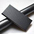 50*100 Глянцевая Автомобильная оберточная бумага из углеродного волокна Черная Виниловая пленка для кузова автомобиля чехол для ключей для н...