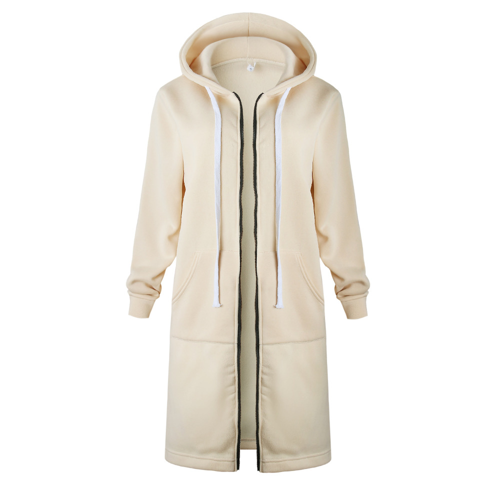 Women Warm Winter Fleece Hooded Parka Coat Overcoat Long Jacket Women Outwear Zipper Female Hoodies S Women Warm Winter Fleece Hooded Parka Coat Overcoat Long Jacket Women Outwear Zipper Female Hoodies S-5XL plus size sweatshirt