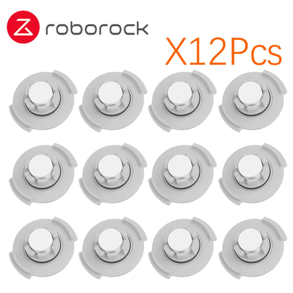 12pcs/lot Original Xiaomi Roborock Robot S50 S51 Vacuum Cleaner 2 Spare Parts Water tank filter new original xiaomi roborock s50 robot vacuum cleaner 2 smart dust cleaning for home office automatic sweep mopping app control