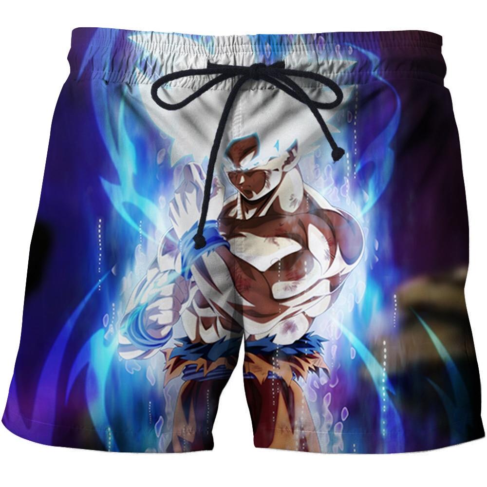 Dragon Women Girl Short Beach Pant Quick-Drying Board Pants