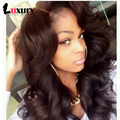 360 Lace Frontal With Bundles Adjustable Straps 7A Brazilian Virgin Hair Body Wave 360 Full Lace Frontal Closure With Bundles