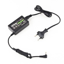 цена на Professional Portable Wall Charger AC Adapter Power Supply Black Cord Carregador Charger AC Adapter For PSP