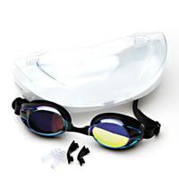 Waterproof Goggles Swimwear For Men Women Anti Fog Swim Glasses Protective Water Sport Ajustable Eyewear
