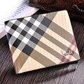 Мужчины кошельки марка винтаж полосатый модной мужской бумажник высокое качество кожа короткие складным мужской кошелек сумки Portefeuille Homme