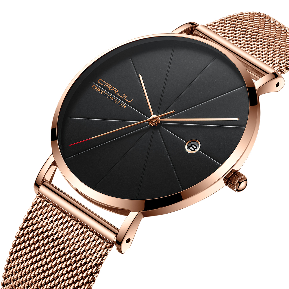 New Top Luxury Watch Men Brand Men's Watches Ultra Thin Stainless Steel Mesh Band Quartz Wristwatch Fashion Casual Clock Male nibosi men s watches new luxury brand watch men fashion sports quartz watch stainless steel mesh strap ultra thin dial men clock