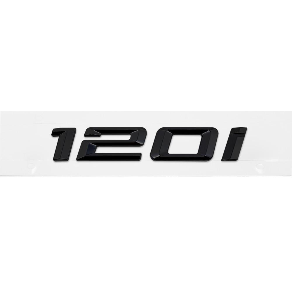 120i REAR TRUNK LETTER EMBLEM BADGE for ALL BMW 1 SERIES E81 E82 3 COLORS