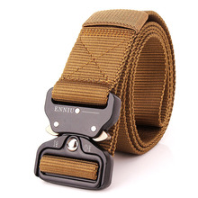 125CM Swat Military Equipment Tactical Belt Quickly Unlock Army Belt 100% Nylon Waistband Mens Heavy Duty US Soldier Combat Belt
