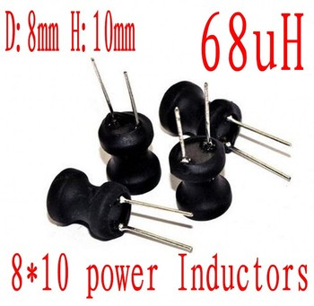 DIP Power Inductor 8*10mm 68uh Radial Lead Inductor 8mm*10mm 68UH 500pcs/lot