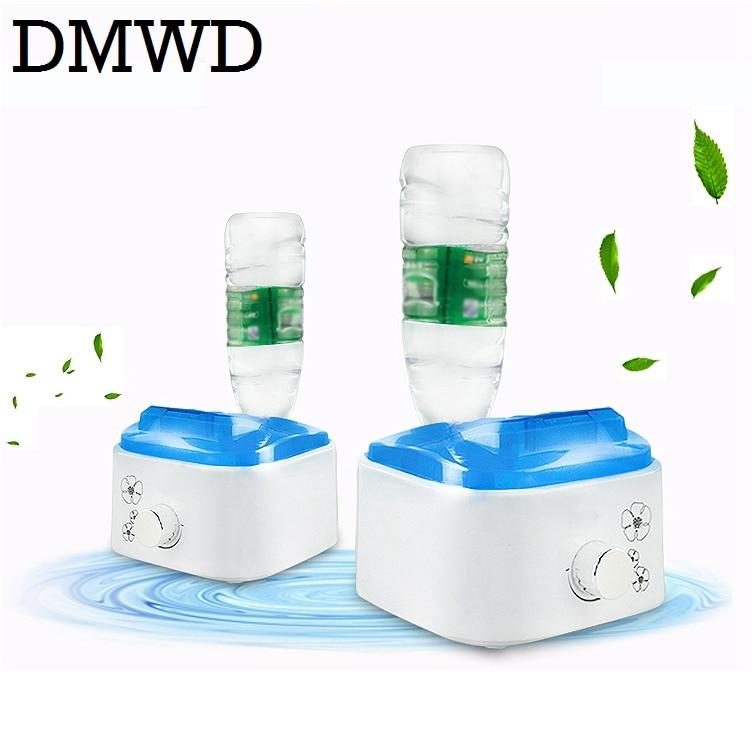 Water bottle Air humidifier home mute bedroom mini small desktop office steam Diffuser Mist Maker Fogger EU US plug adapter