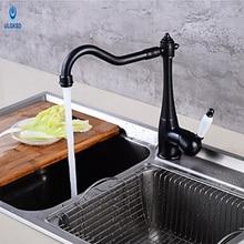 Ulgksd вытащить раковина, смеситель опрыскиватель голову одной ручкой кухонной мойки горячей и холодной смесители