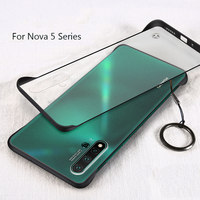 5 3 Msvii Frameless Case For Huawei Nova 3 Case Ultra-thin Frosted Matte Back Cover For Hawei Nova 5 Pro Nova 5 4 Phone Bag Shell (1)