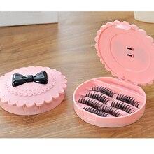 Boîte de transport de cils avec miroir, conteneur de stockage de cils à trois niveaux, boîte de voyage en acrylique, organisateur de boîtes de cils rose sans miroir