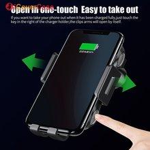 Qi Auto Schnelle Drahtlose Lade Telefon Halter Für Blackview BV6800 Pro BV5800 pro BV9500 BV9600 Pro Qi Drahtlose Ladegerät Telefon stehen