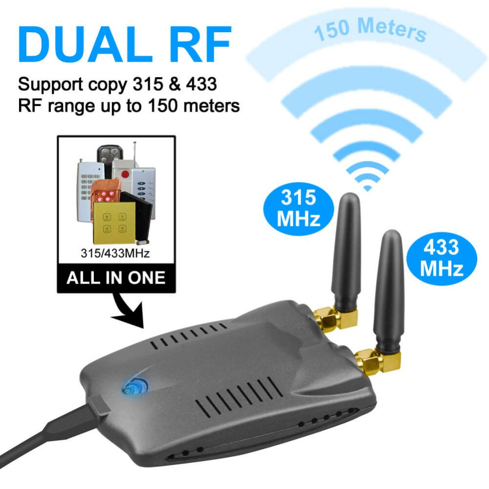 433Mhz/315 Wireless Remote Control Switch  Replacement Smart Home Automation Universal Switch Intelligent Domotica Wi-Fi Remote