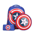 New school backpacks avengers captain america cartoon style schoolbags for kids children shoulder bags mochila infanti X738