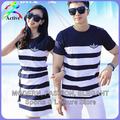 Fashion Couple Clothes Lovers T Shirts Men Women Summer Valentine's Day Casual Beach Wear Cute Korea Matching Couple Shirts 2210