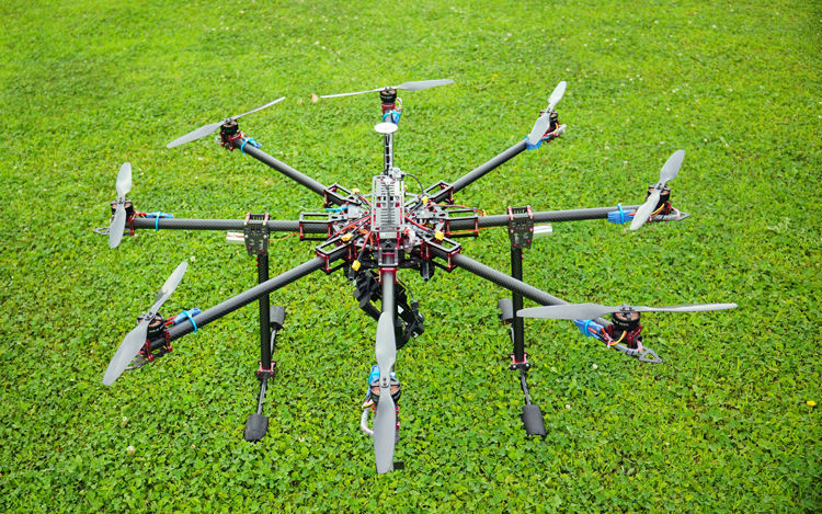 aliexpresscom buy hh dragonslayer 1180mm large grade professional 25mm glassy carbon fiber foldingfoldable octocopterhexacopterquadcopter frame from