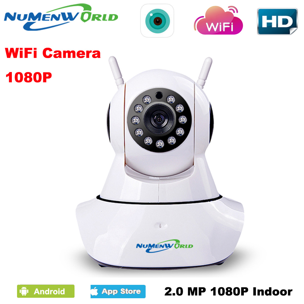 HD 1080P IP Camera wifi camera surveillance camera sd 64GB camara font b Wireless b font