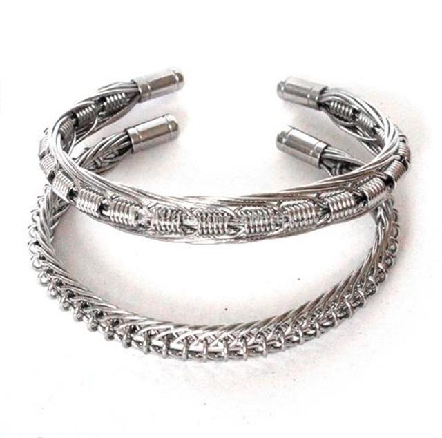 FYF62 Demon Killer Vaper Bracelet Awesome Ecig Accessory Best Cool Design fit Vaping 316 L Silver Color 100% Handmade