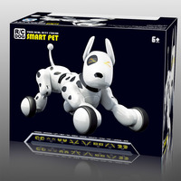 Robot Dog Electronic Intelligent Pet Education Smart Remote Control Dog Singing and Dancing Toys for Kids Xmas Birthday Gift