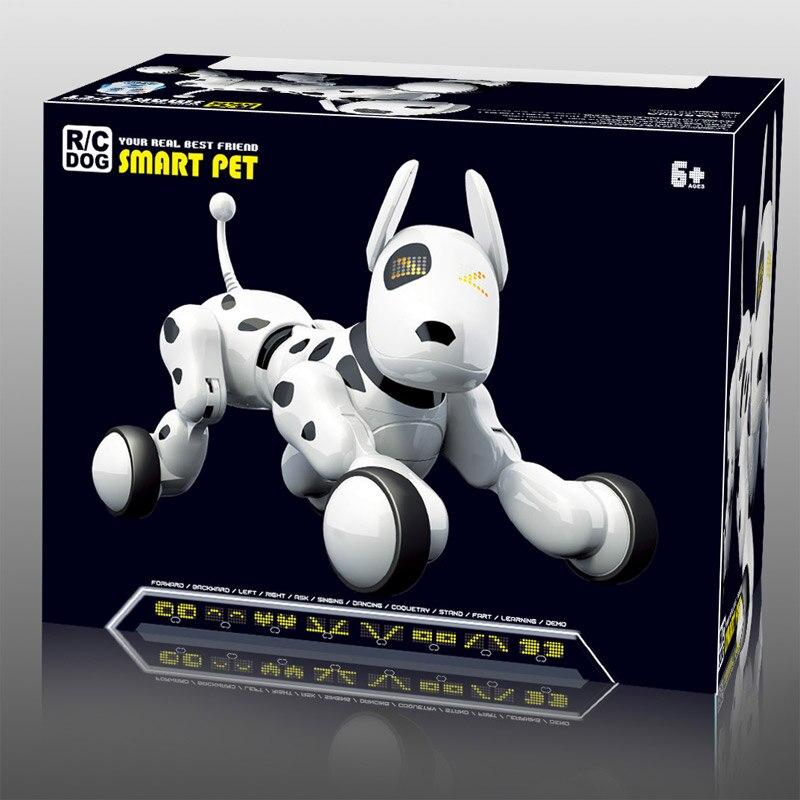 Robot chien électronique Intelligent Pet éducation jouet Intelligent télécommande chien chantant et dansant jouets pour enfants noël cadeau d'anniversaire - 5