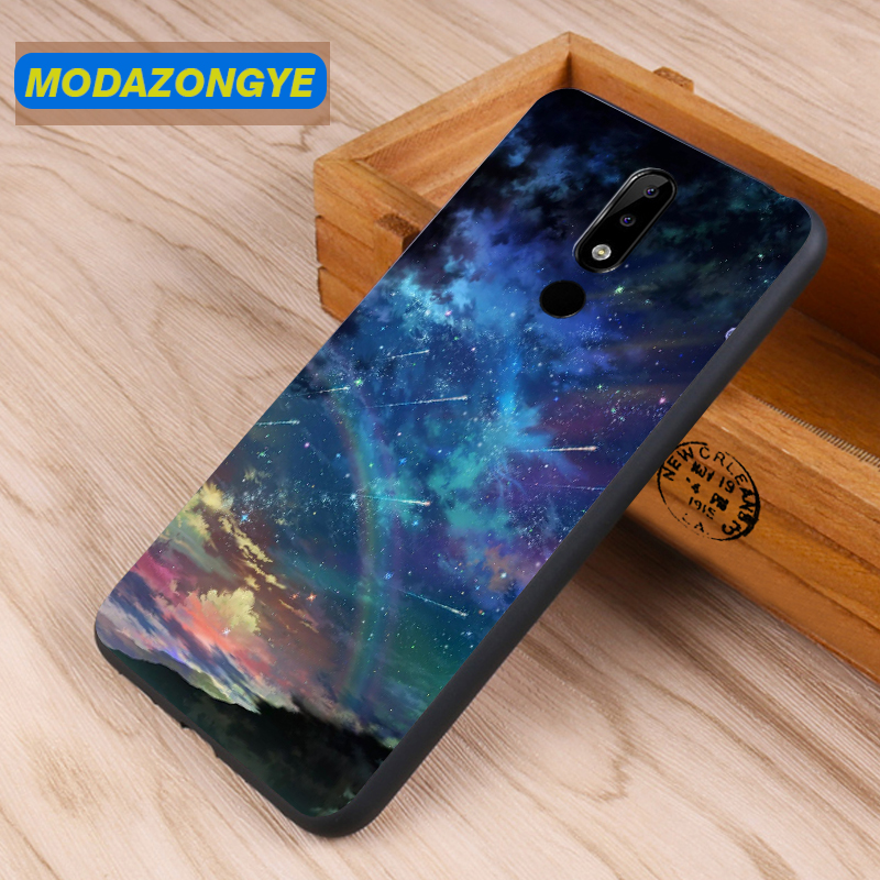 Nokia 5.1 Plus Case Nokia X5 2018 Case Cover Soft TPU Phone Case Back Cover Nokia 5.1 Plus X5 TA-1109 Nokia5.1plus Case Silicone