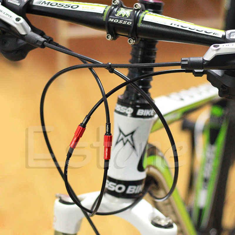 MTB バイクブレーキケーブルギアシフトコネクタラインレギュレータ調整ハウジングキャップブランド新