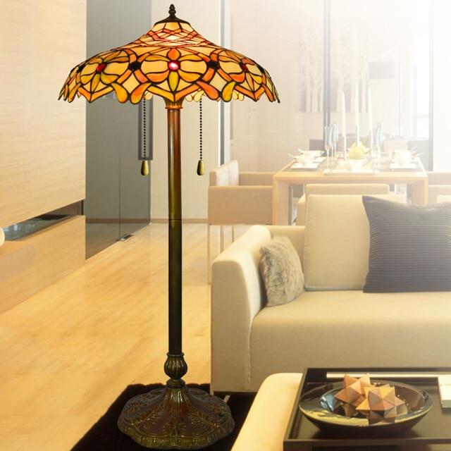 Eropa Tiffany Lampu Klasik Ruang Tamu Makan R Tidur Studi Seni Deco Hotel Villa