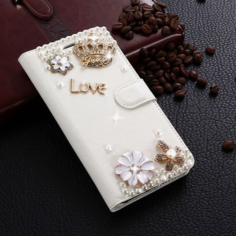Coque For Blackview A10 Case Glitter Rhinestone Leather Case 3D Strass Diamond Flip Wallet Kickstand Phone Covers Cars Slots