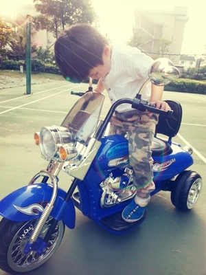 Harley children electric car electric cars motorcycle new children s large dual drive three wheeled motorcycle