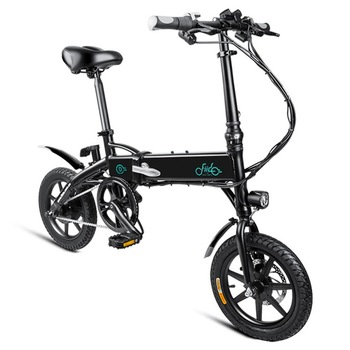 Poland stock FIIDO D1 Folding Electric Moped Bike Three Riding Modes 14 Inch Tires 250W Motor 25km/h 10.4Ah Battery e bike