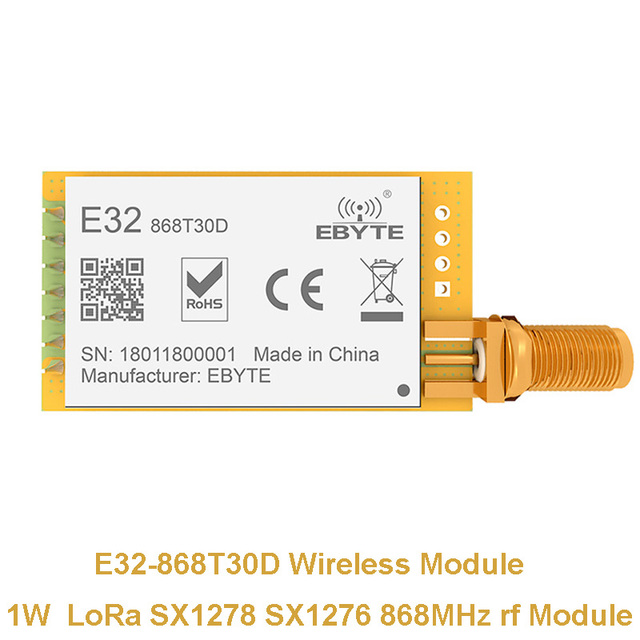 e32 915t20s smd 915mhz sx1276 wireless module lora long