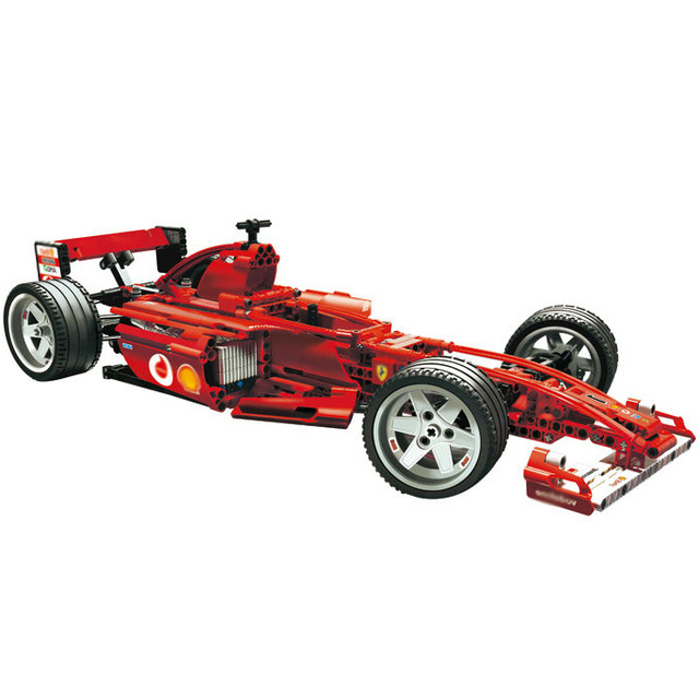 1242pcs F1 Racer building bricks blocks Toys for children Game Car Formula 1 Compatible with цена