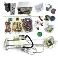 Crane gantry kit Parts with Crane Game PCB Board coin acceptor, buttons, harness ,claw for DIY Arcade Cabinet Toy Machine