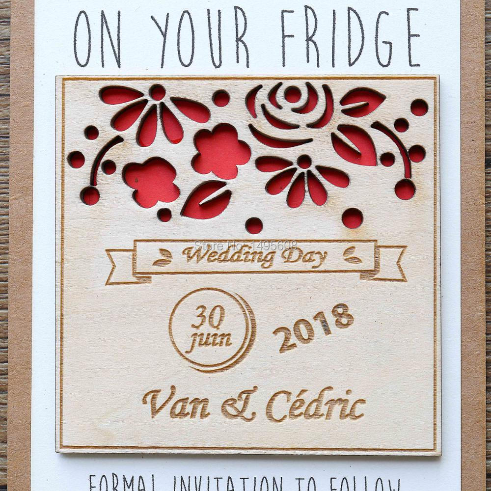 Deluxe Wood Save Date Magnets Laser Cut Save Custom Rustic Save Handmade Party Favorsfrom Home Wood Save Date Magnets Laser Cut Save Custom